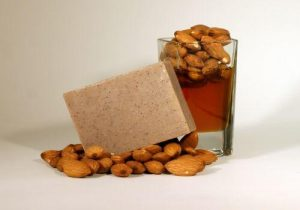 Natural Almond honey soap bar