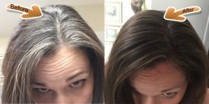 Henna Hair Dye Brown Before And After