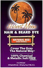 Harvest Moon natural red pure henna
