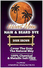 Harvest Moon Dark Brown Henna Hair Dye