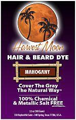 Mahogany Henna Hair Dye