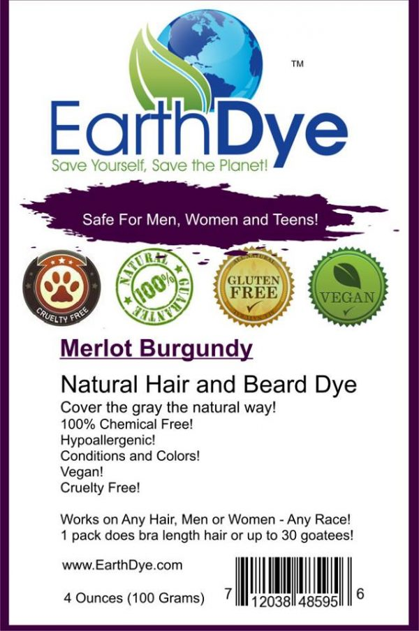 natural burgundy hair dye