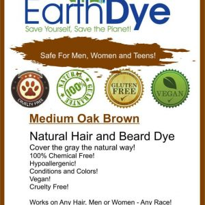 natural brown hair and beard dye