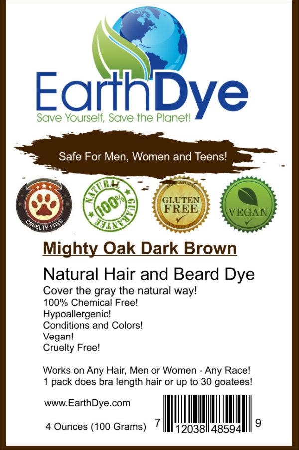 Natural Dark Brown Hair Dye