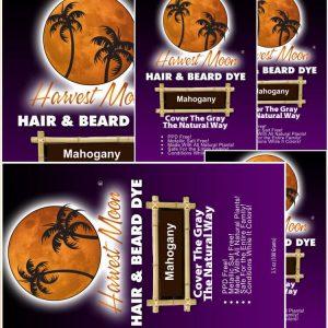Natural Beard Dye 5 Packs